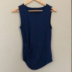 Ann Taylor Side Ruched Tank